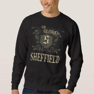 Casa SHEFFIELD. Camisa do presente para o
