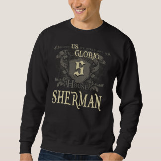 Casa SHERMAN. Camisa do presente para o
