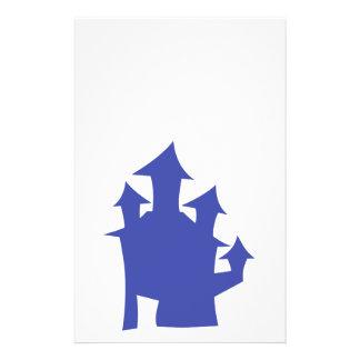 Casa velha. Azul profundo Panfletos Personalizados