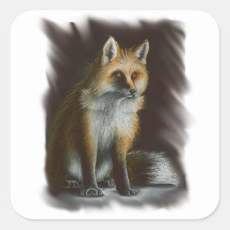 Casaco do inverno - etiqueta do Fox