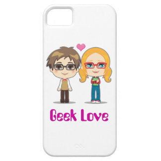 Casal do geek capa barely there para iPhone 5