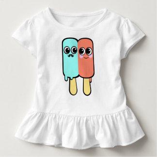 Casal do sorvete de Kawaii Camisetas