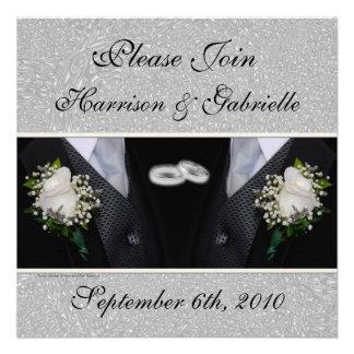 Casamento alegre convite civil do costume da união