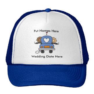 Casamento alegre masculino a personalizar bone