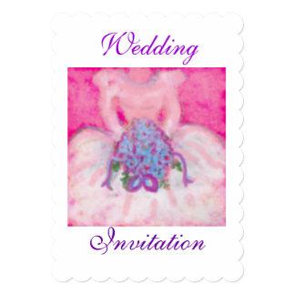 Casamento bonito Carolinson invitationsby nupcial Convite 12.7 X 17.78cm