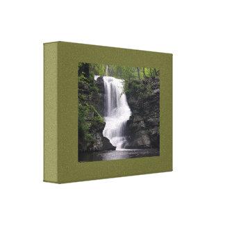 Casamento bonito da floresta da água da natureza impressão em tela canvas