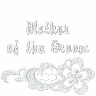 Casamento branco do laço - mãe do noivo