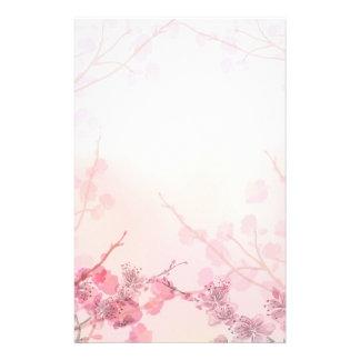 Casamento cor-de-rosa da orquídea papéis personalizados