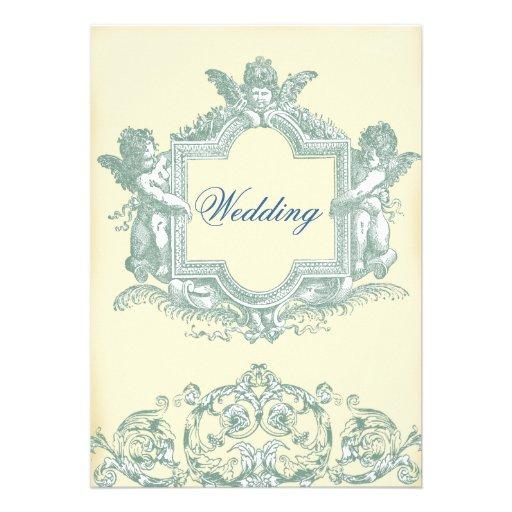 Casamento (de creme) de Georgiana Convite Personalizados