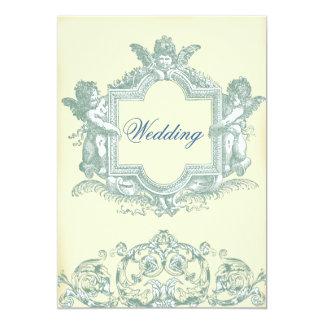 Casamento (de creme) de Georgiana Convite 12.7 X 17.78cm