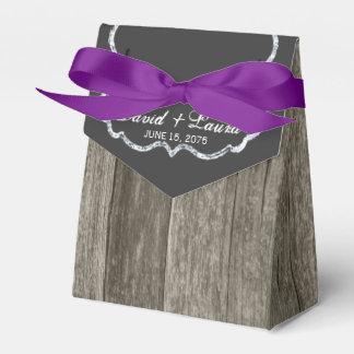 Casamento de madeira rústico elegante do quadro caixinha de lembrancinhas para festas