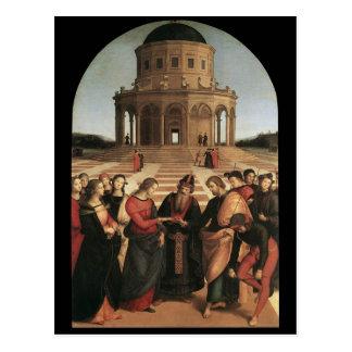 Casamento de Raphael do cartão do Virgin
