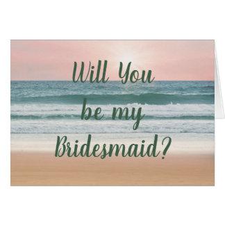 Casamento de Sun da praia você será meus cartões