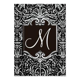 Casamento do monograma/convite 6 do noivado