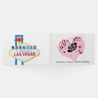 Casamento dos namorados de Las Vegas Livro De Visitas