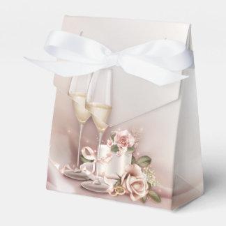 Casamento elegante de Champagne Caixinha De Lembrancinhas Para Festas