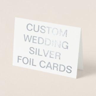 Casamento feito sob encomenda cartões