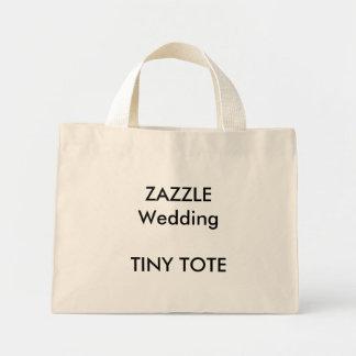 Casamento feito sob encomenda cor NATURAL da Bolsa Tote Mini