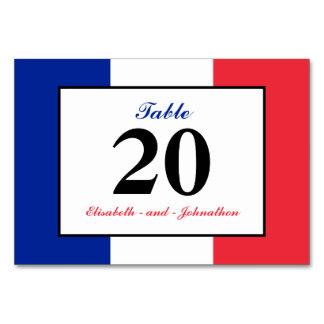 Casamento francês da bandeira