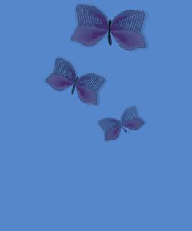 Casamento havaiano bonito da flor da borboleta camisetas