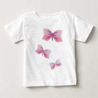 Casamento havaiano bonito da flor da borboleta tshirts