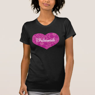 Casamento havaiano do coração t-shirt