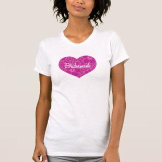 Casamento havaiano do coração tshirt