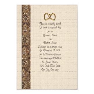 Casamento ou aniversário formal do convite