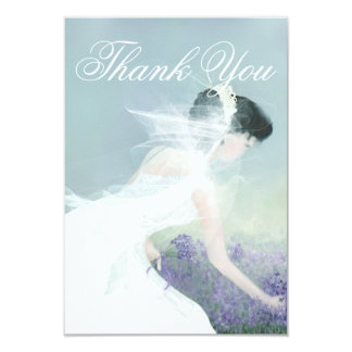 Casamento ou cartões de agradecimentos do chá de