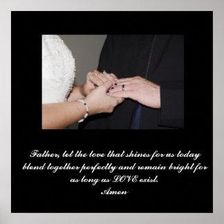 Casamento personalizado poster