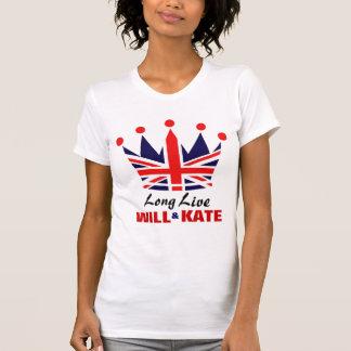 Casamento real - camisa de William & de Kate
