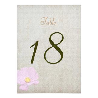 Casamento simples do papel do vintage do cartão do convite 11.30 x 15.87cm