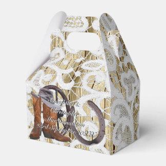 Casamento tema damasco filigrana ocidental do laço caixinha de lembrancinhas