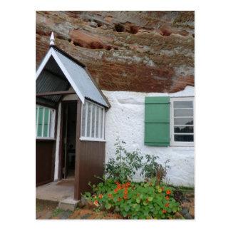 Casas da rocha da borda de Kinver Cartão Postal