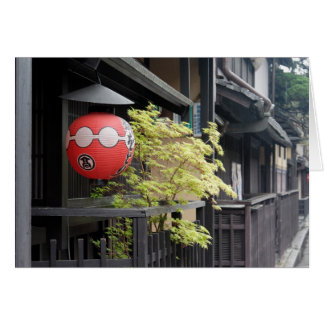 Casas de chá no cartão de Shimbashi