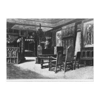 Casas de Victor Hugo Impressão De Canvas Esticada