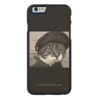 Casco madeira para móvel phone colecção catsy