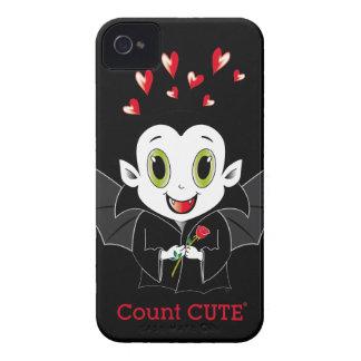 Case mate corajosa de Cute® Blackberry da contagem Capas Para iPhone 4 Case-Mate