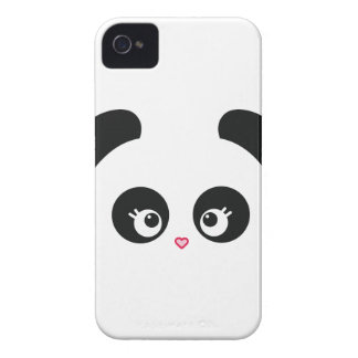 Case mate corajosa de Panda® Blackberry do amor Capinhas iPhone 4