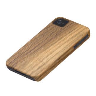 Case mate de madeira do iPhone 4 do celeiro do Capas Para iPhone 4 Case-Mate