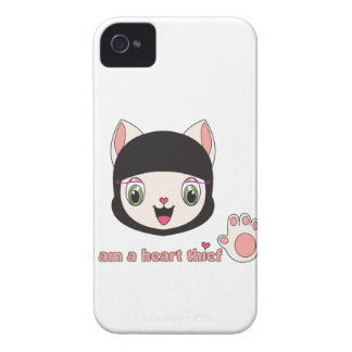 Case mate de Ninja MEOW™ Blackberry Capa Para iPhone 4 Case-Mate