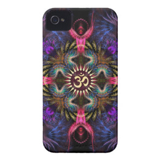 Case mate do iPhone 4 de Aum da arte do Fractal Capinha iPhone 4