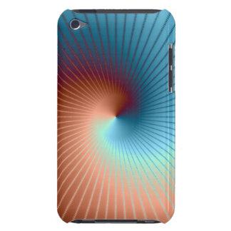Case mate espiral do Fractal Capa Para iPod Touch