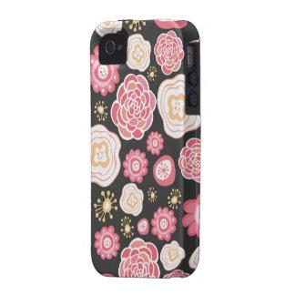 Case mate floral feminino Iphone do teste padrão Capinhas iPhone 4/4S