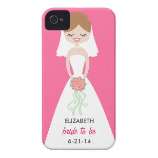 Case mate personalizada do iPhone 4 da noiva mal Capinhas iPhone 4