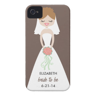 Case mate personalizada do iPhone 4 da noiva mal Capinhas iPhone 4