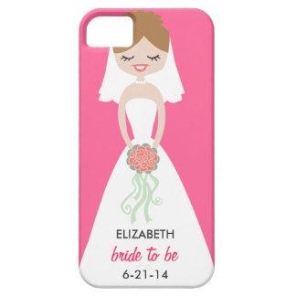 Case mate personalizada do iPhone 5 da noiva mal Capa Para iPhone 5