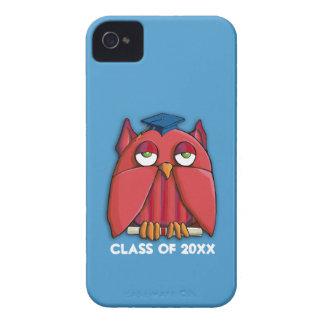 Case mate vermelha ID™ do iPhone 4/4S do aqua do Capinha iPhone 4