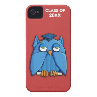 Case mate vermelha ID™ do iPhone 4/4S do formando Capas Para iPhone 4 Case-Mate