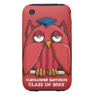 Case mate vermelha Tough™ do iPhone 3G/3GS do Capinhas Para iPhone 3 Tough
